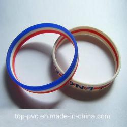 Qualität Plastic Gift Promotional 3D Silicone Bracelet (SB-010)