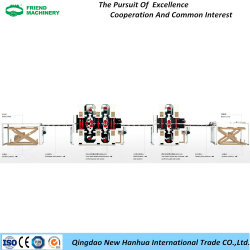 Linea di produzione di lucidatura automatica con l'unità di giro d'affari del comitato