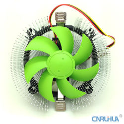 Radiador de Aluminio Cero Caliente de la Refrigeración por Aire de la Computadora para la CPU