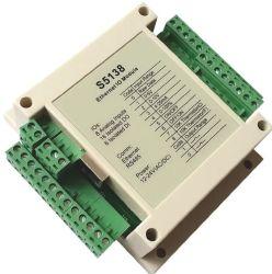 8-CH 0-5 V, 0-10 V, 0-20 mA, NTC Entrée analogique de thermistance 10k 16-CH isolé 6 entrée numérique de sortie numérique Modbus TCP/IP Ethernet