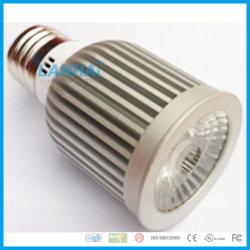 Coupe d'éclairage en aluminium 7W COB E14/E27/GU10/GU5.3/LED MR16 Spotlight