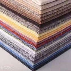 Nouveau style de 100 % polyester Sellerie tissu Fancy Home Textile canapé de gros meubles tissu indéchirable fils teints