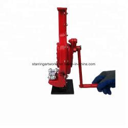Des couleurs personnalisées 1.5tons-3tonnes tonnes tonnes-5-10-15tonnes tonnes tonnes capacité-20-30Manuel d'approvisionnement en usine à main type cliquet mécanique de levage de l'acier Jack en rack