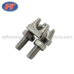 Haito DIN 304/316 en acier inoxydable741 Wire Rope Clips avec finement poli