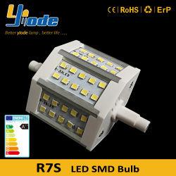 78mm 85-265 V R7s en LÁMPARA DE LED PARA apliques halógenos