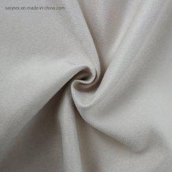 100 % polyester Tissu en daim Warp pour chaussures Hometextile matériel oreiller coussin