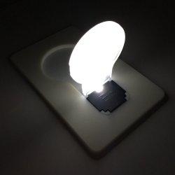 Promoção dons prenda de Natal de LED Lâmpada de Cartão de bolso