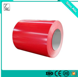 Material de solda o Alumínio 1060 1100 3003 3105 da bobina de alumínio revestido de cor
