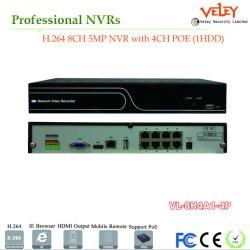 4CH 8CH 16CH Poe 4K IP van het Netwerk de Videorecorder van de Camera