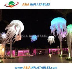 Красивое освещение группа стиле с надувной медузообразных круглая насадка для взбивания