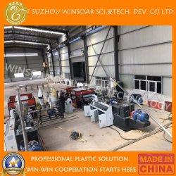 Mattonelle di tetto ondulate composite di plastica che rendono a PVC della macchina la macchina di fabbricazione di piatto ondulata del tetto Vinyle tetto ondulato rivestire fabbricazione della macchina