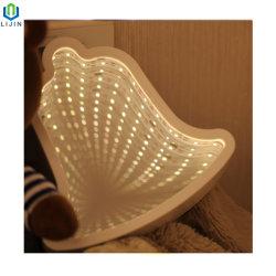 Einzelne Lampe Spiegelflächen-kleine Bell-LED mit Spiegelflächen-Dekoration-Tisch-Lampe