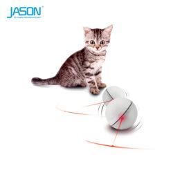 ペットロール・ボール電子猫のおもちゃLEDレーザーの対話型のおもちゃ