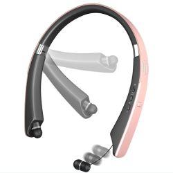 Neckband faltbare Bluetooth Kopfhörer einziehbares Earbuds