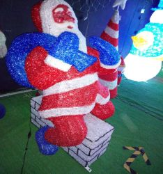 IP44 Рождество Санта-Лампа для использования вне помещений Сделано в Китае для использования вне помещений рождественские украшения