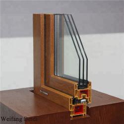 UPVC/PVC Profiles Colorful Glass를 가진 Casement Window의 방수 소리 Proof/Heat Insulate