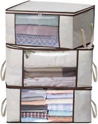 Oxford+PVC sackt faltbarer Speicher-Organisator Speicherbeutel für Kleidung, Zudecke, Tröster, Wandschrank, Medium ein