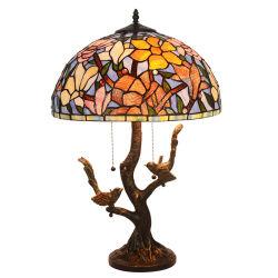 Comercio al por mayor venta de antigüedades de alta calidad de las Vidrieras lámpara Tiffany