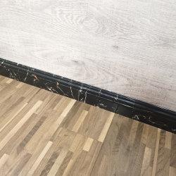플라스틱에게 PVC 비닐 지면 둘러싸기 주조하는 대리석 벽 베이스 보드