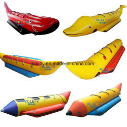 Water Extreme Sports Banana Boat 3-8명 CE En71 팽창식 보트