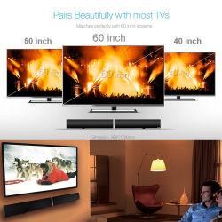 Barra de sonido inalámbrico Bluetooth Altavoz del televisor Home Audio altavoz HiFi sonido Surround