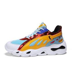 Lo sport poco costoso dell'unità di elaborazione di Lycra di prezzi di marca cinese calza i pattini operati di sport per lo slittamento sopra