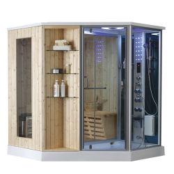 Sauna van de Stoom van de Combinatie van de Douche van de Stijl van Zuid-Korea de Houten Materiële Persoonlijke