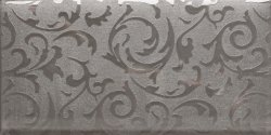 Silver Glass Brick Mosaic Tile Met Wall Paper Pattern Design