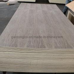 Grado 3A 17mm álamos Core Black Walnut Fancy Plywood