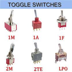Resistente al agua IP67 eléctrico momentánea en el interruptor de encendido automático de Micro Pulsador Conmutador