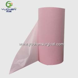 Matières premières et d'alèse serviette hygiénique utiliser PE du rouleau de film