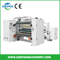 Ordinateur en PVC haute vitesse/opp/PET avec l'Europe de la qualité de la machine de refendage