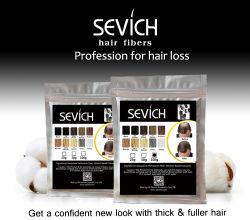 100% algodón natural cabello negro engrosamiento de la construcción de revisión de las Fibras Naturales