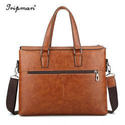 Джип из натуральной кожи для мужчин Спорт и Отдых Путешествия Messenger сумки через плечо Vintage портфель