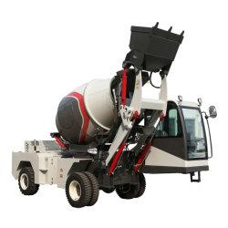 Betoniera mobile concreta del miscelatore di cemento dei macchinari edili 4.0cbm con la scala elettrica