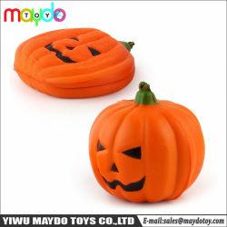 Squishy PU artificial con fragancia suave de calabaza de Halloween decoración de Halloween de juguete de regalo