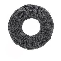 VDE/UL style Vintage Câble Tissu Fil électrique câble textiles