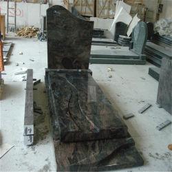 오로라 화강암 Polished 기념물 묘석