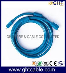 Cabo HDMI de alta qualidade 2,0 V. camisa azul Bujão Especial