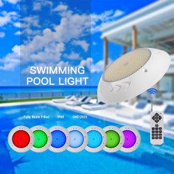 IP68 هواكسيا ريسين مملوءة تحت ضوء حوض السباحة ذي مؤشر LED المائي