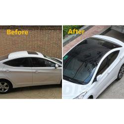 차 지붕 비닐은 필름 차량 힘 Sunroof 유리제 시뮬레이션 전사술 스티커 검정을 보호한다