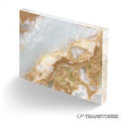 혁신적인 인공 Alabaster Stone 현대적인 천장 디자인