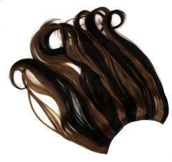 Populäres Produkt heißes Seiiling reales menschliches Jungfrau-Haar Klipp-in den Haar-Extensionen