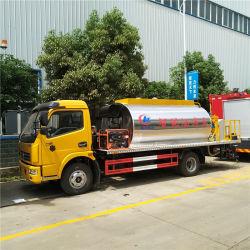6 de kubieke Bespuitende Vrachtwagen van het Bitumen van de Vrachtwagen van het Onderhoud van de Wegen van de Tankwagen van de Verdeler van het Asfalt