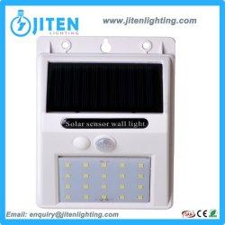 動きセンサーが付いている緑エネルギー26 LED太陽エネルギーの庭の壁ライト
