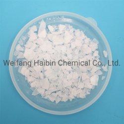 Compuestos de magnesio blanco de la industria química de cloruro de magnesio Mgcl2