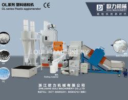 Resíduos de plástico filme Agglomerator