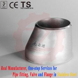 ASME B16.9 RVS Butt-lassing Pipe Reducer