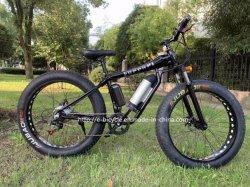 500W 48V 26 pollici - bicicletta poco costosa elettrica dell'incrociatore della spiaggia dell'uomo della bici di montagna dell'alta gomma grassa di alluminio di velocità