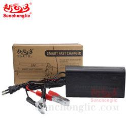 chargeur de batterie Sunchonglic 12V 5d'un Chargeur rapide intelligent